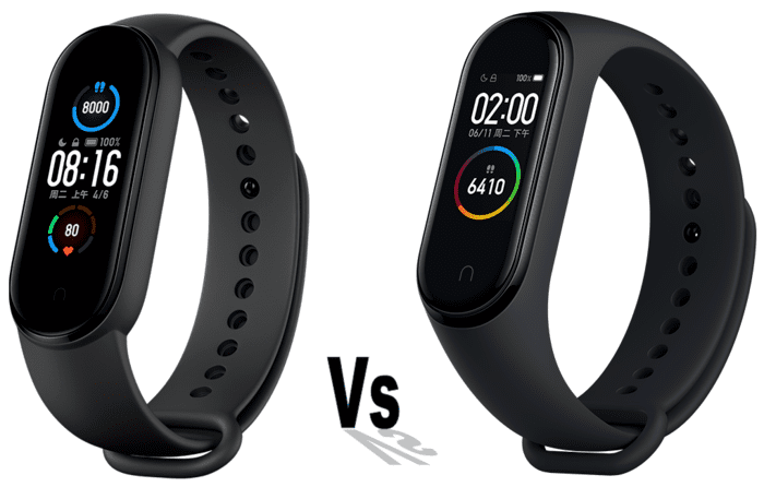 Difference Mi Band 4 Et Mi Band 5