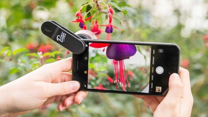 Objectifs Macro Smartphone